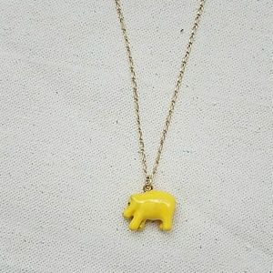 CLEARANCE J. Crew hippo necklace